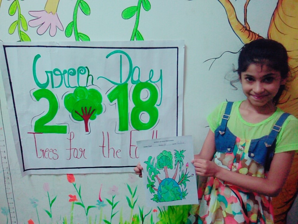 Green Day Celebration The World Of Kids Play School Hello Parent